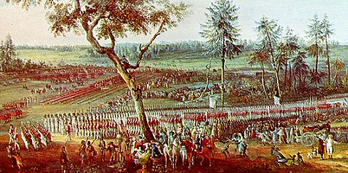 Painting of the Surrender at the Battle of Yorktown